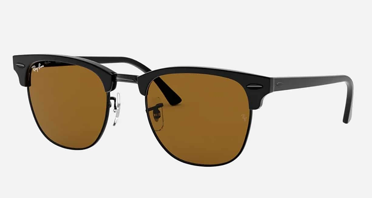 Lunettes de soleil homme - Ray-Ban Clubmaster Classic