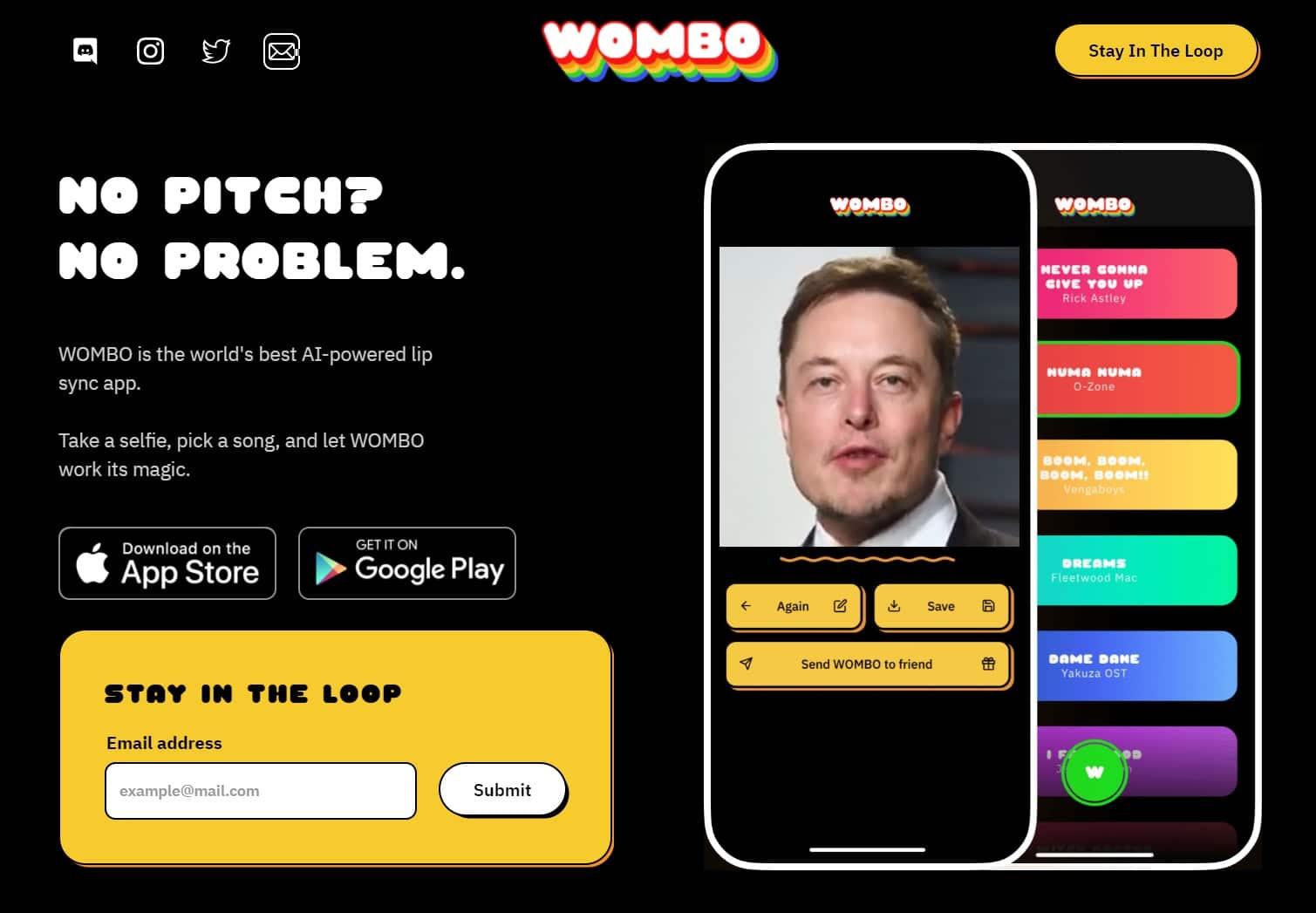Télécharger Wombo AI