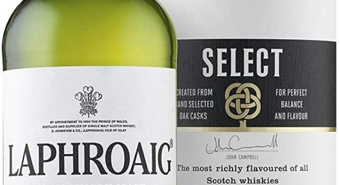 Dégustation : whisky LAPHROAIG Select