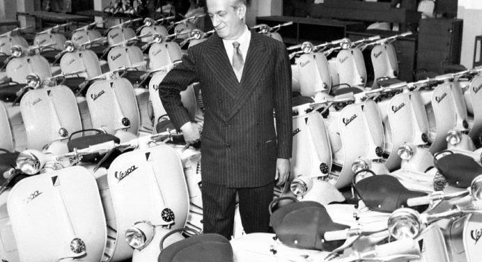 Vespa célèbre son 75e anniversaire avec un scooter collector