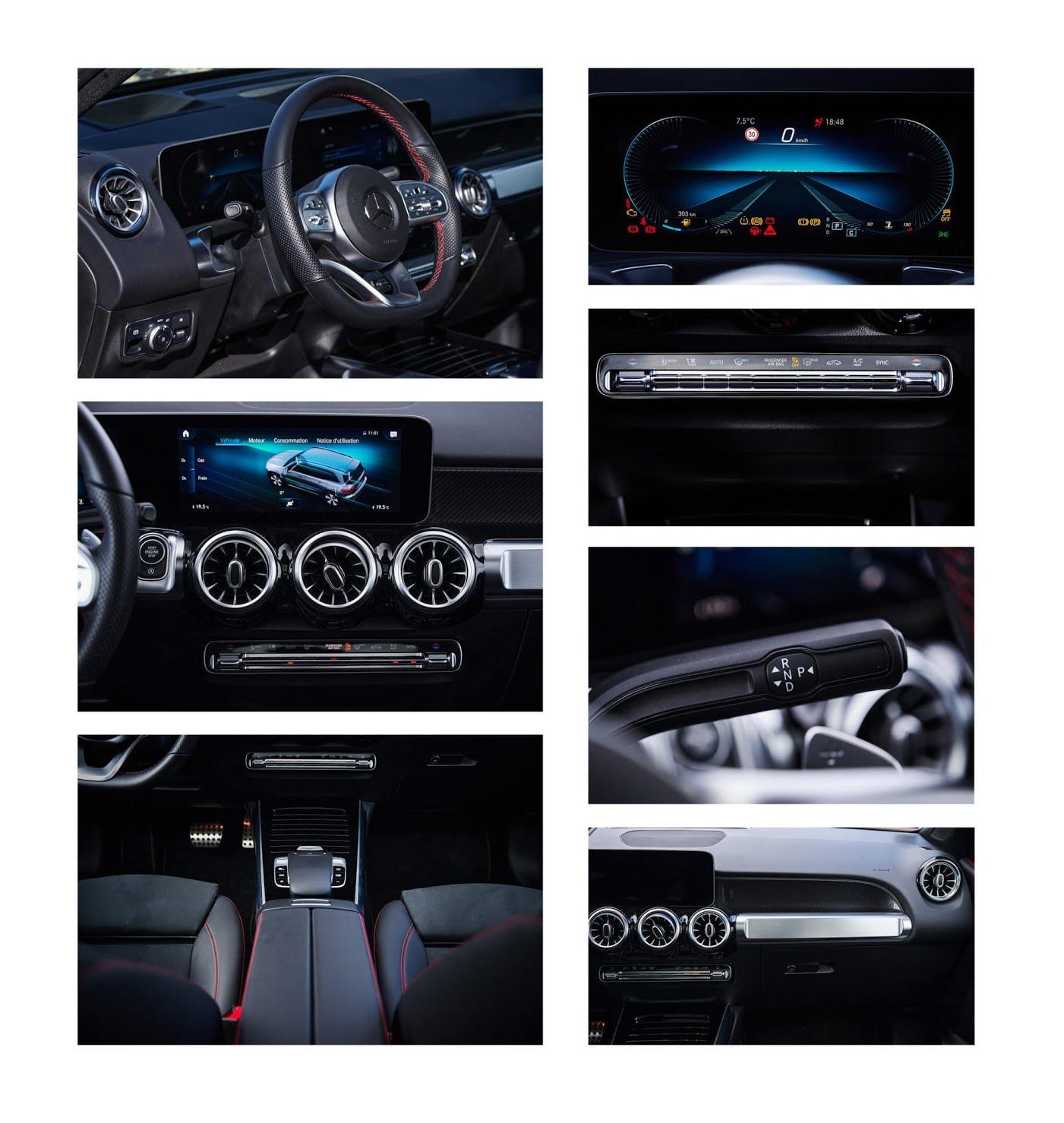 Essai Mercedes GLB 220D AMG Line 4Matic - 7 places