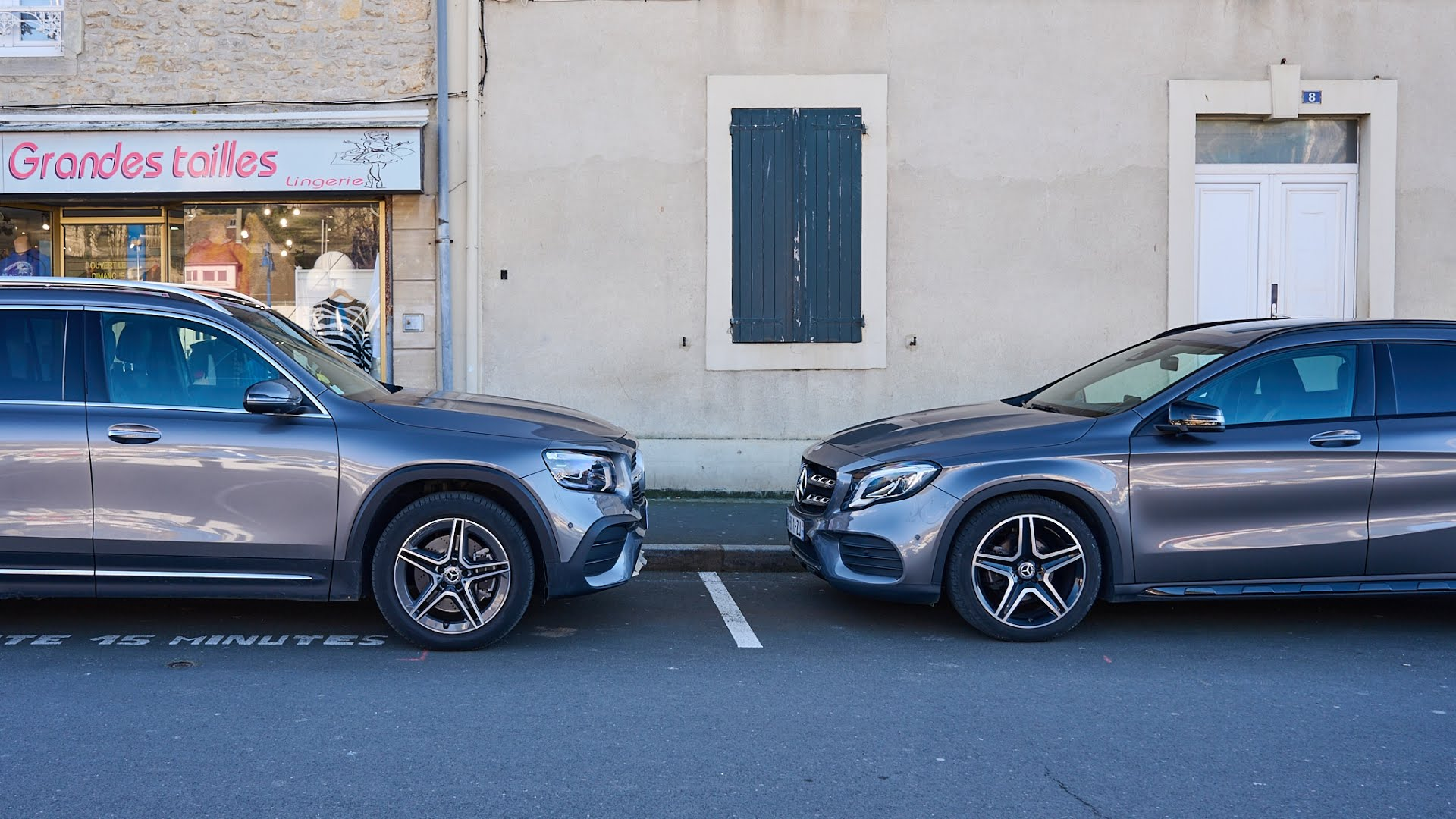 Mercedes GLB vs Mercedes GLA