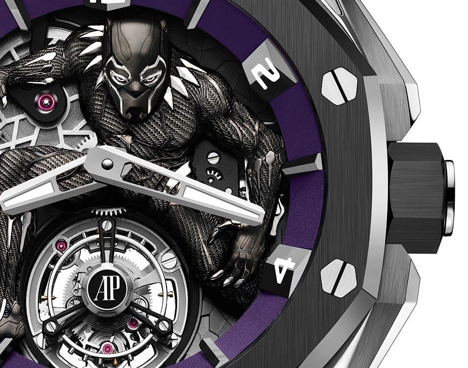 Black Panther sur la montre Audemars-Piguet