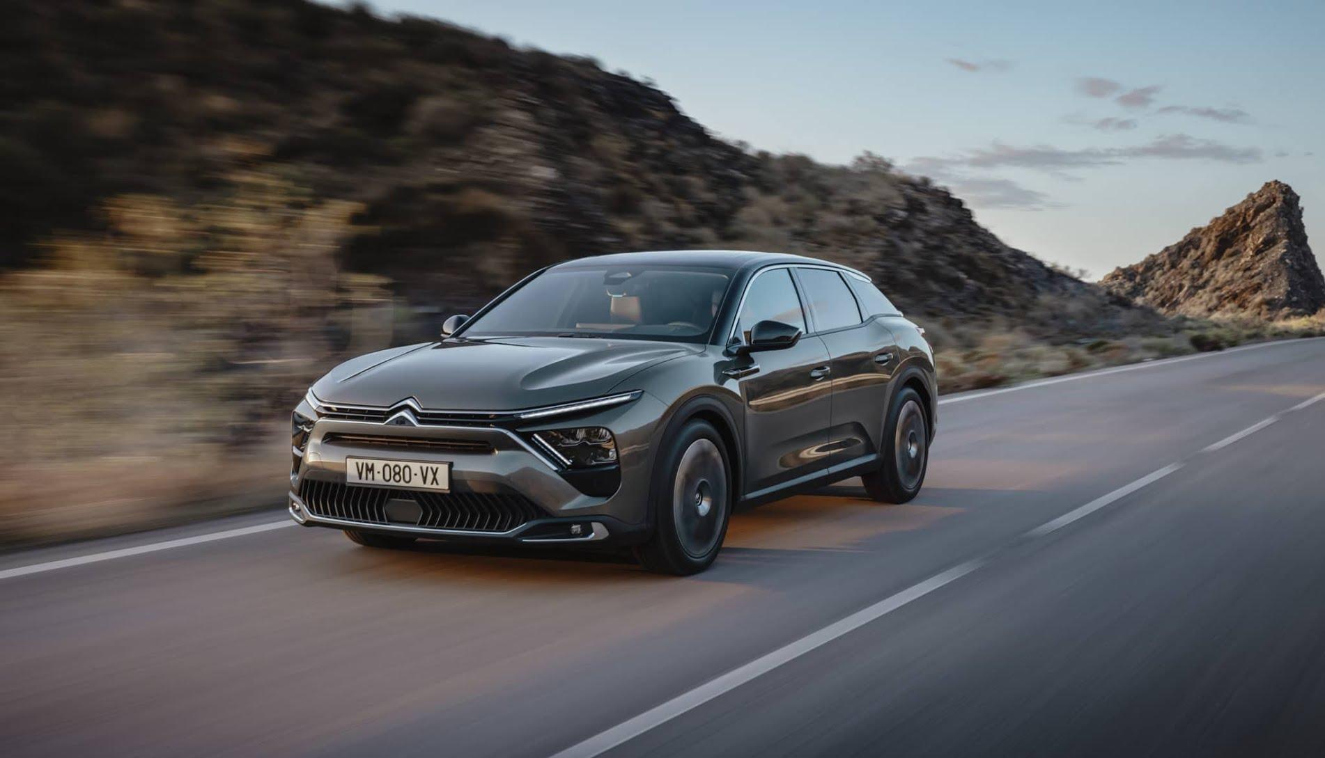 La Citroën C5 X : Une voiture à la pointe de la technologie et du confort