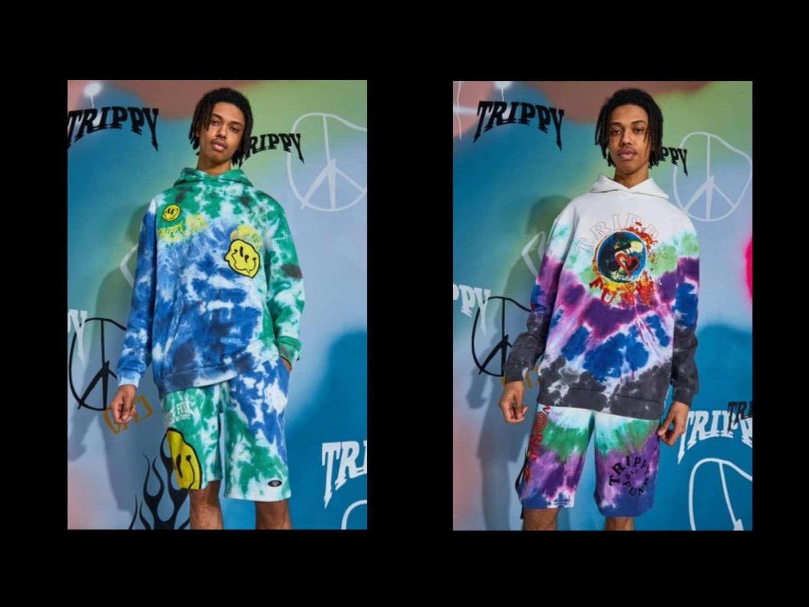 Osez le tie&dye : le fameux hoodie multicolor et psychédélique
