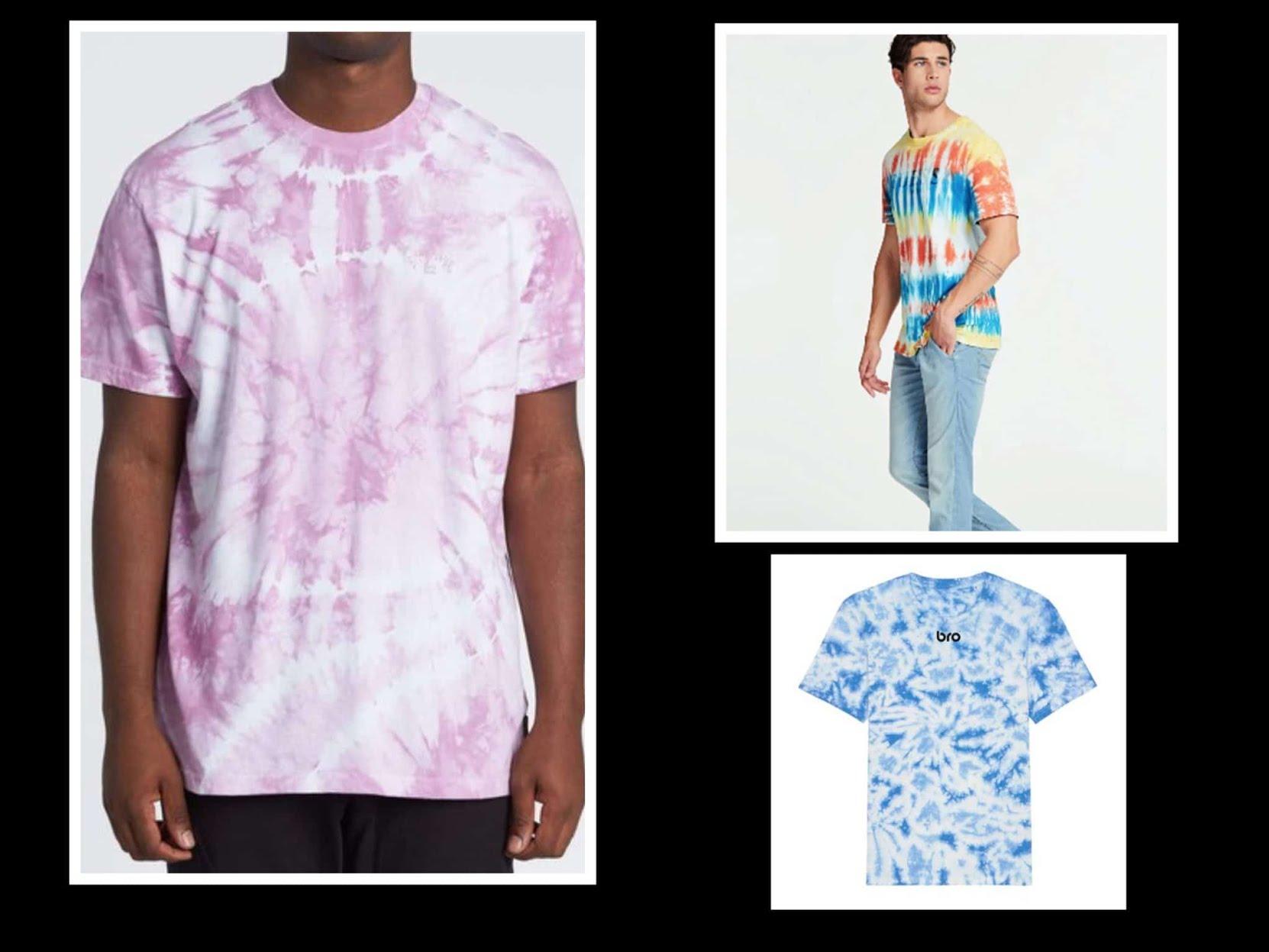 Osez le tie&dye : votre garde robe d'été multicolore