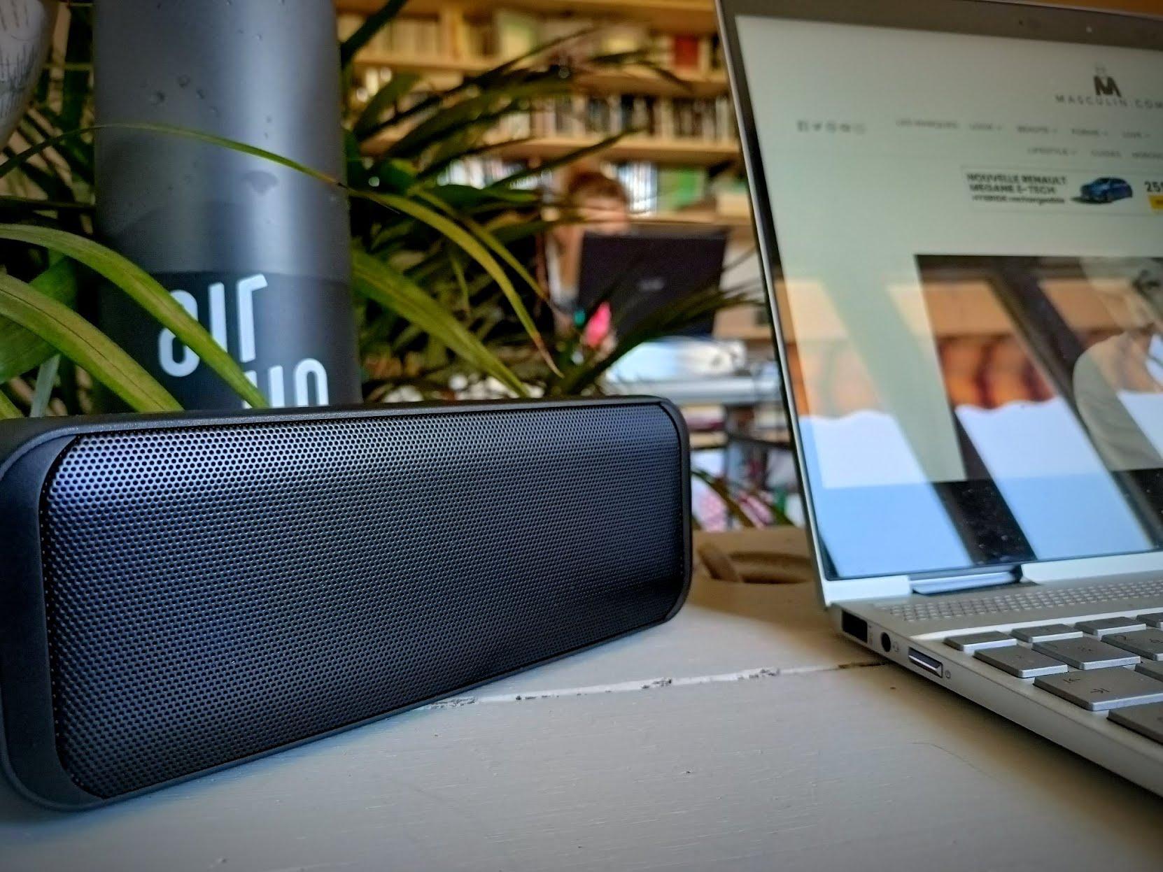 Accessoires pour le télétravail - Enceinte Bluetooth Aukey