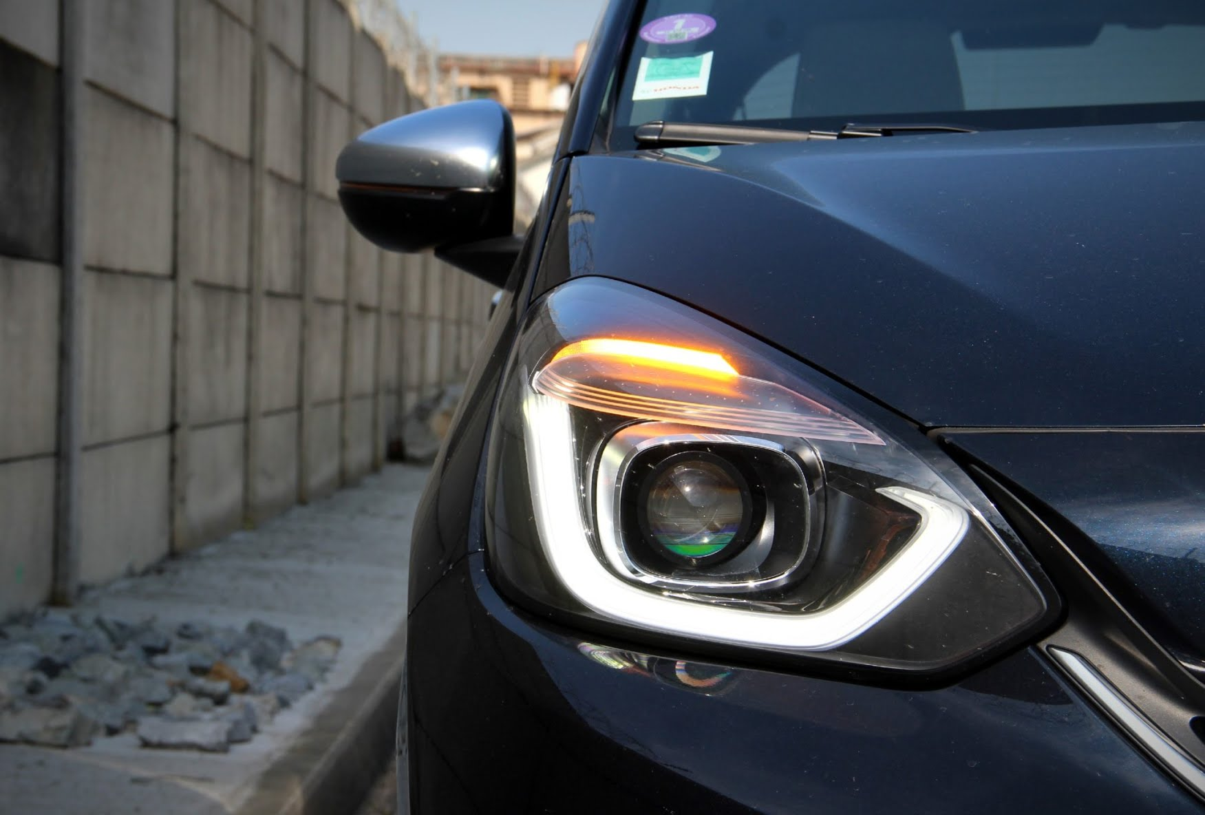 Phares de la Honda Jazz hybride
