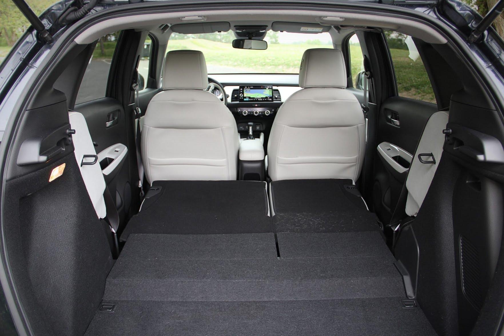 Honda Jazz - coffre avec sièges rabattus