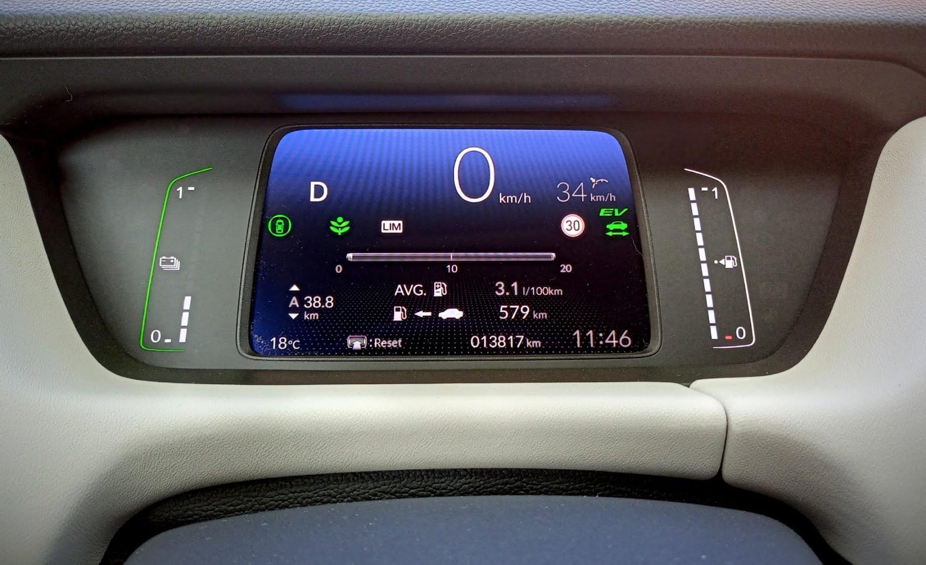 Honda Jazz Hybride - consommation