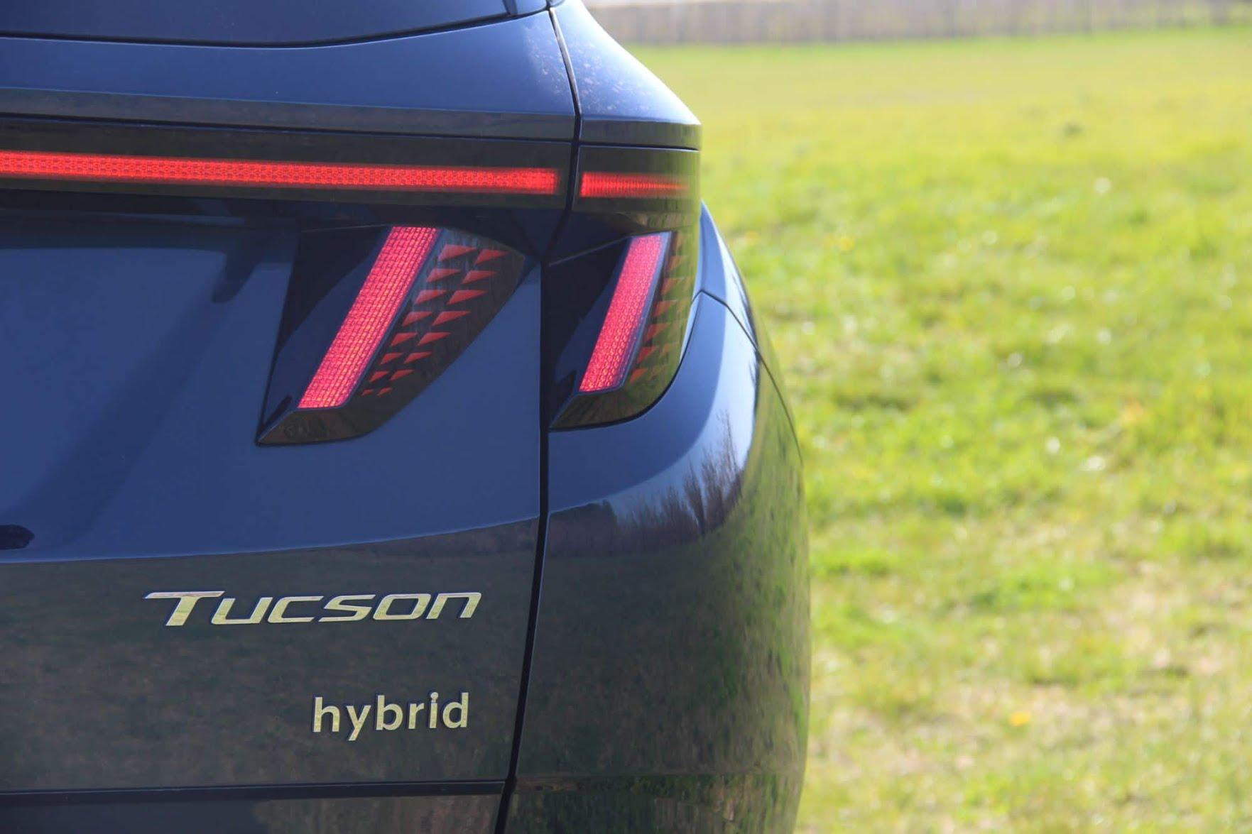 Feux arrière du Hyundai Tucson