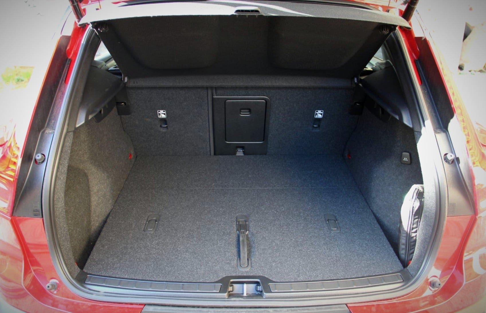 Volvo XC40 Recharge Twin - volume du coffre