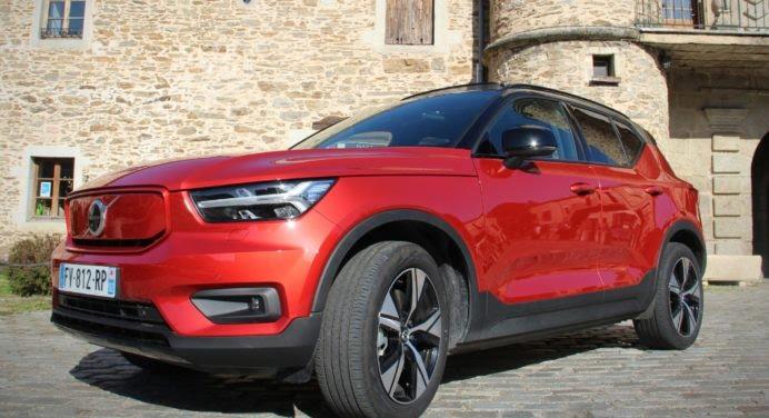 Essai Volvo XC40 Recharge Twin : le rouge, ça va vite… même en électrique !