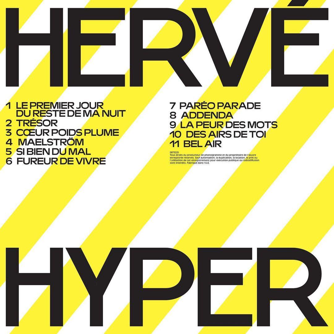 Hervé : Album HYPER