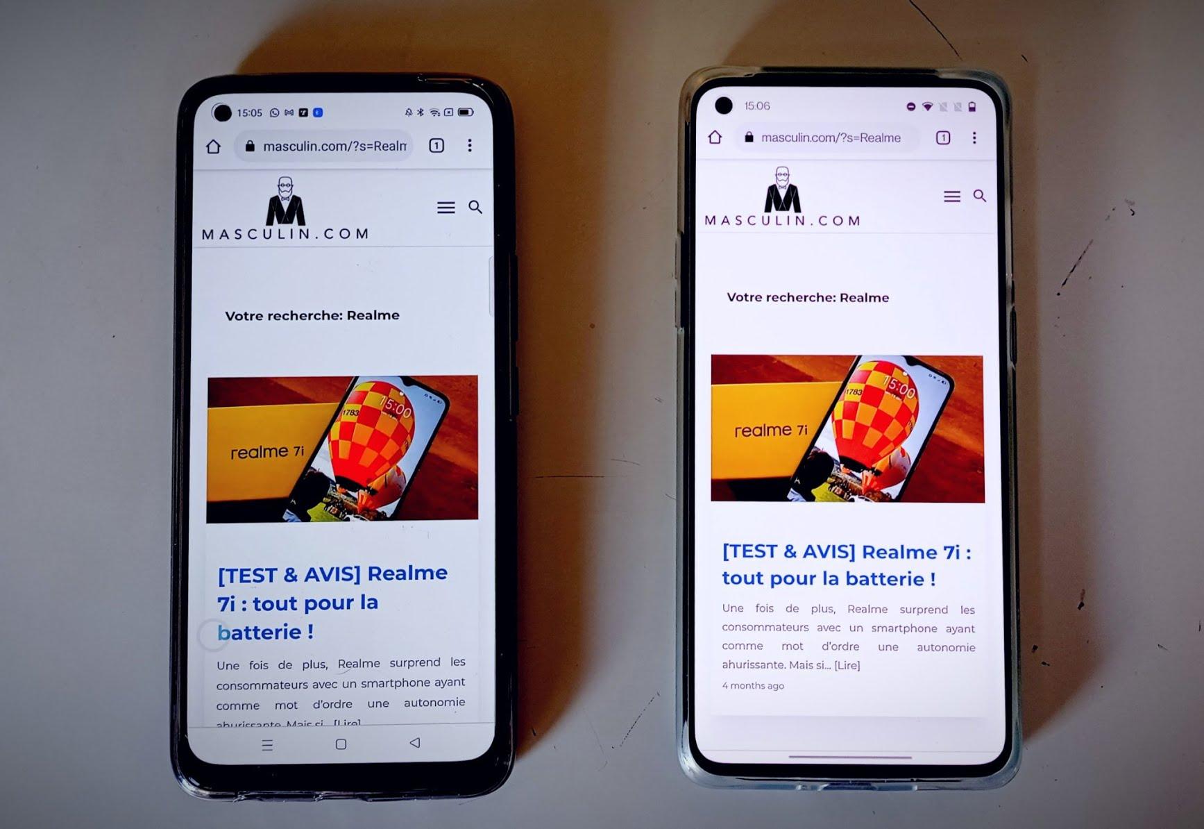 Realme 8 vs OnePlus 8T
