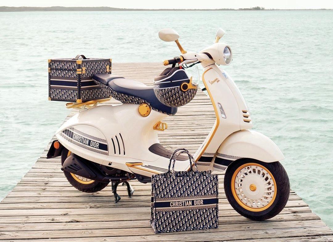 Scooter Vespa Dior
