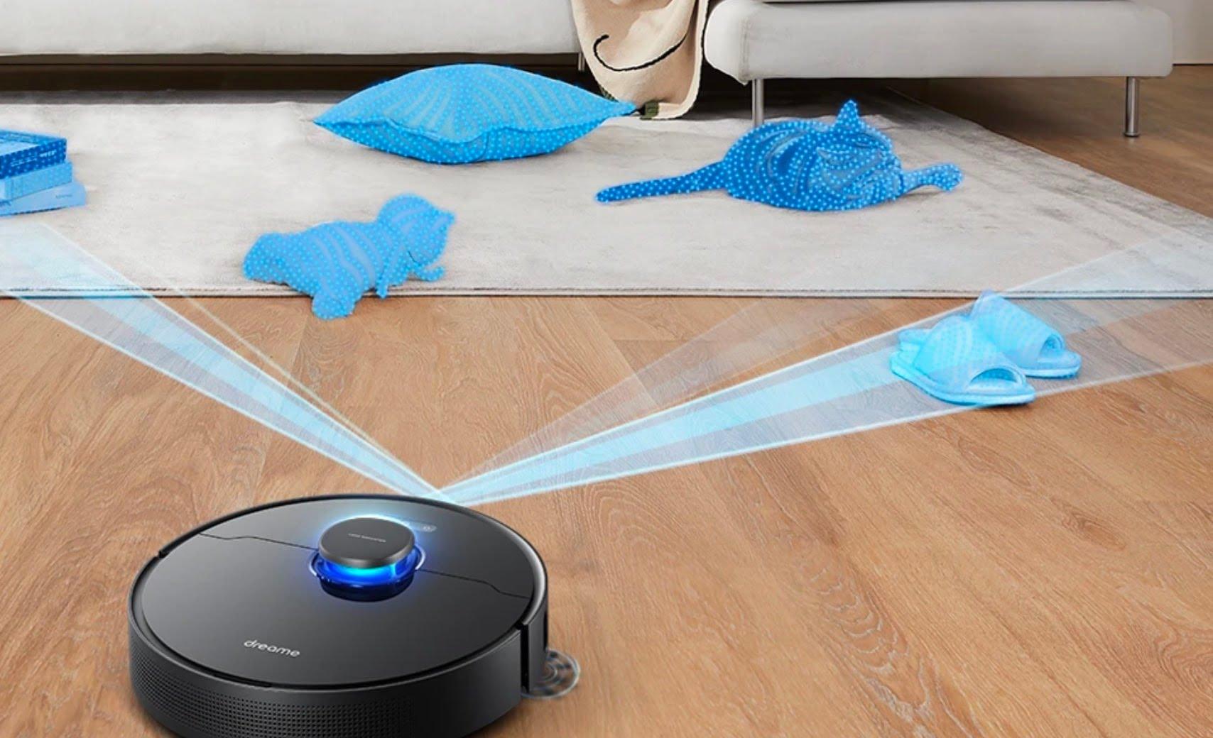 Aspirateur Robot Dreame Bot L10 Pro capteurs