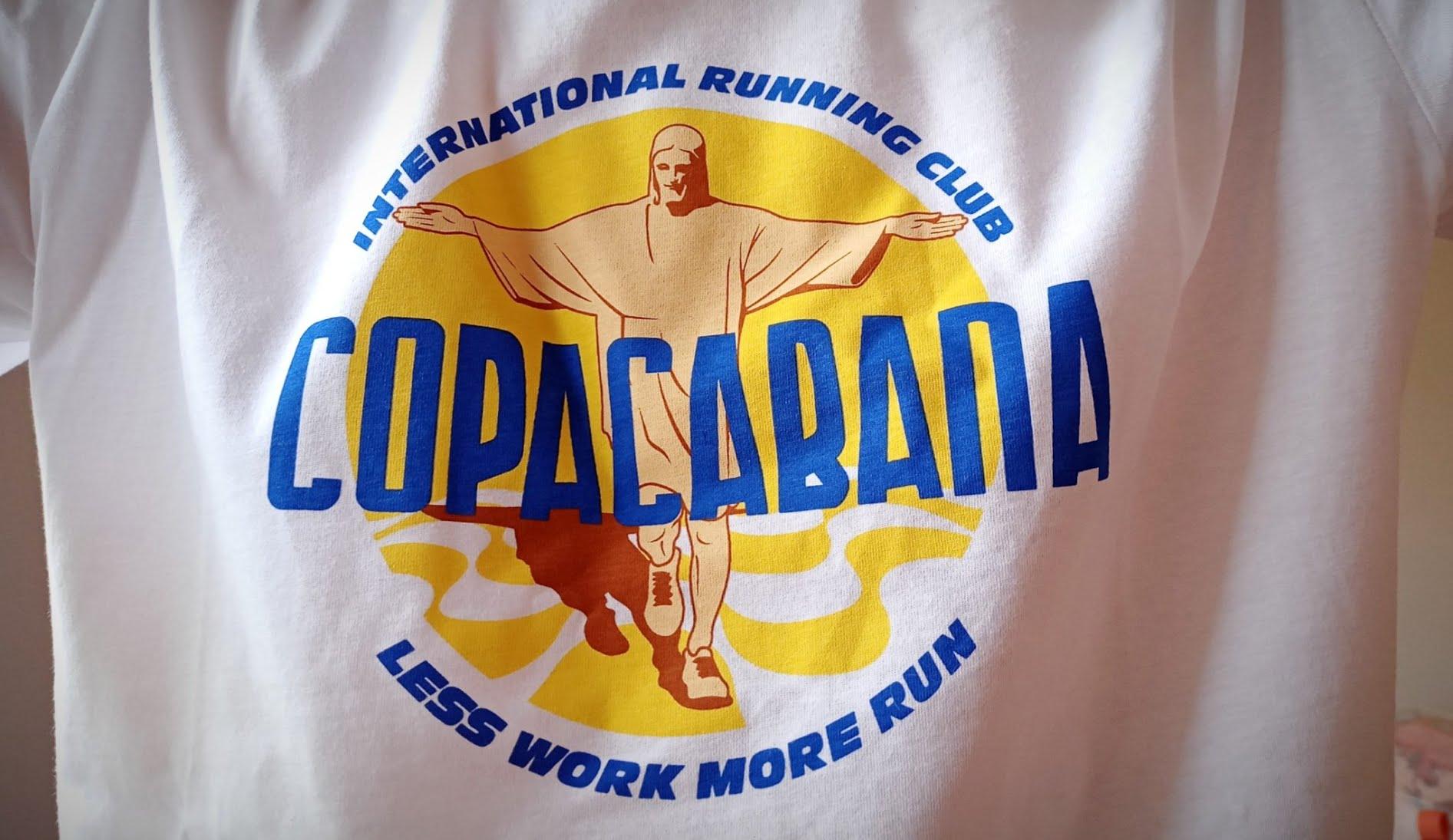 International Running Club (IRC) - T-shirt Copacabana