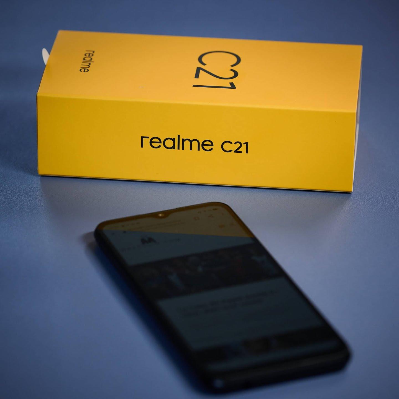 Test Realme C21 - un smartphone à grand écran abordable