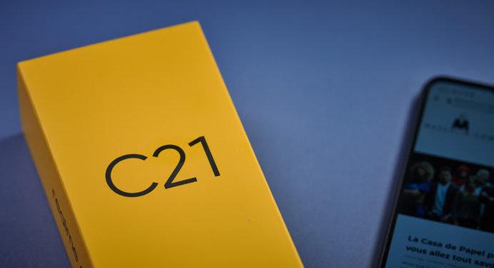 Test Realme C21 : un smartphone pas cher avec écran 6,5 pouces