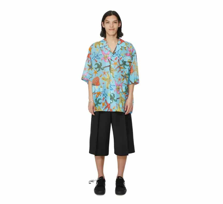 Osez les chemises imprimées originales en été