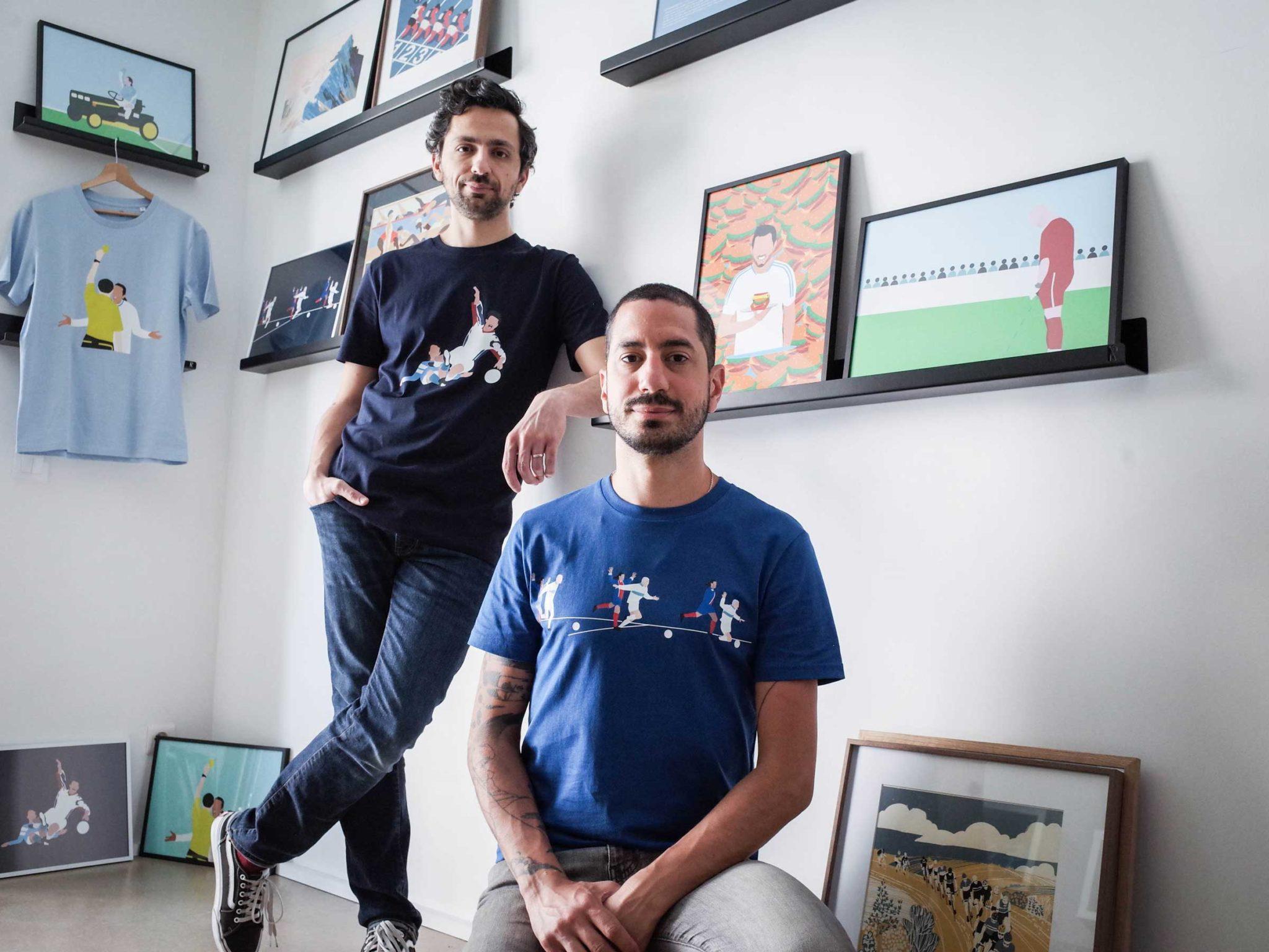 Alex et Fabrice, les deux cofondateurs de Maison Transversale