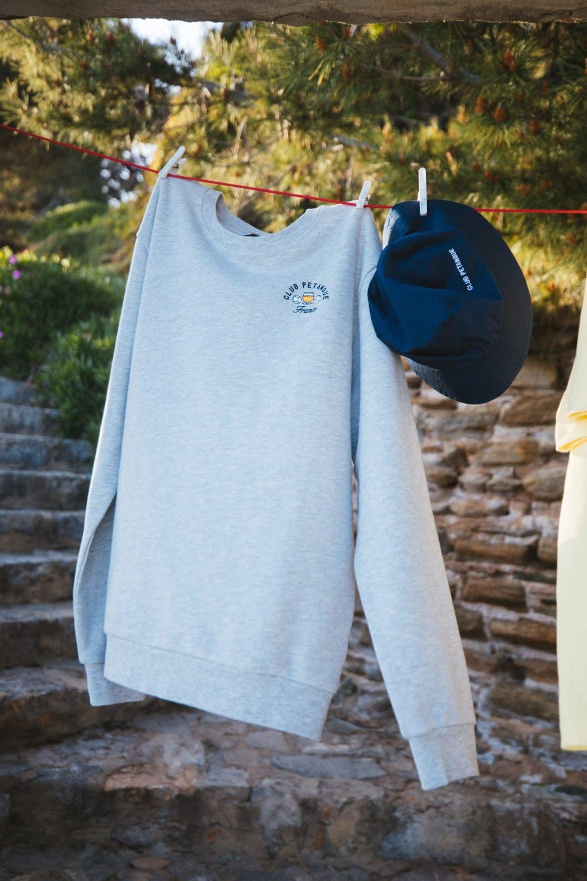Sweat-shirt Jules x Club Pétanque