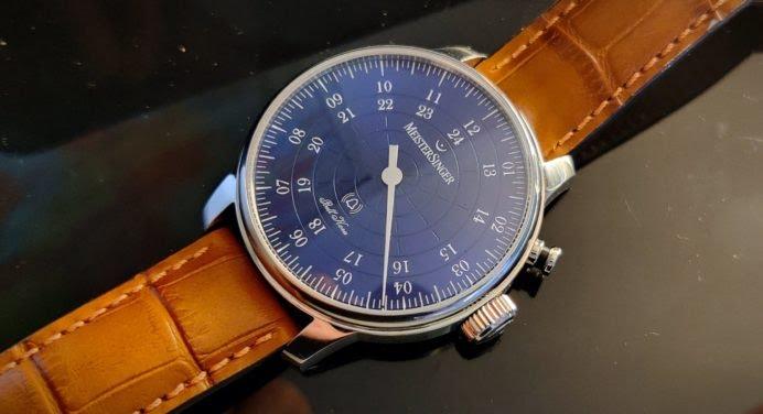 MeisterSinger Bell Hora : une montre qui sonne bien