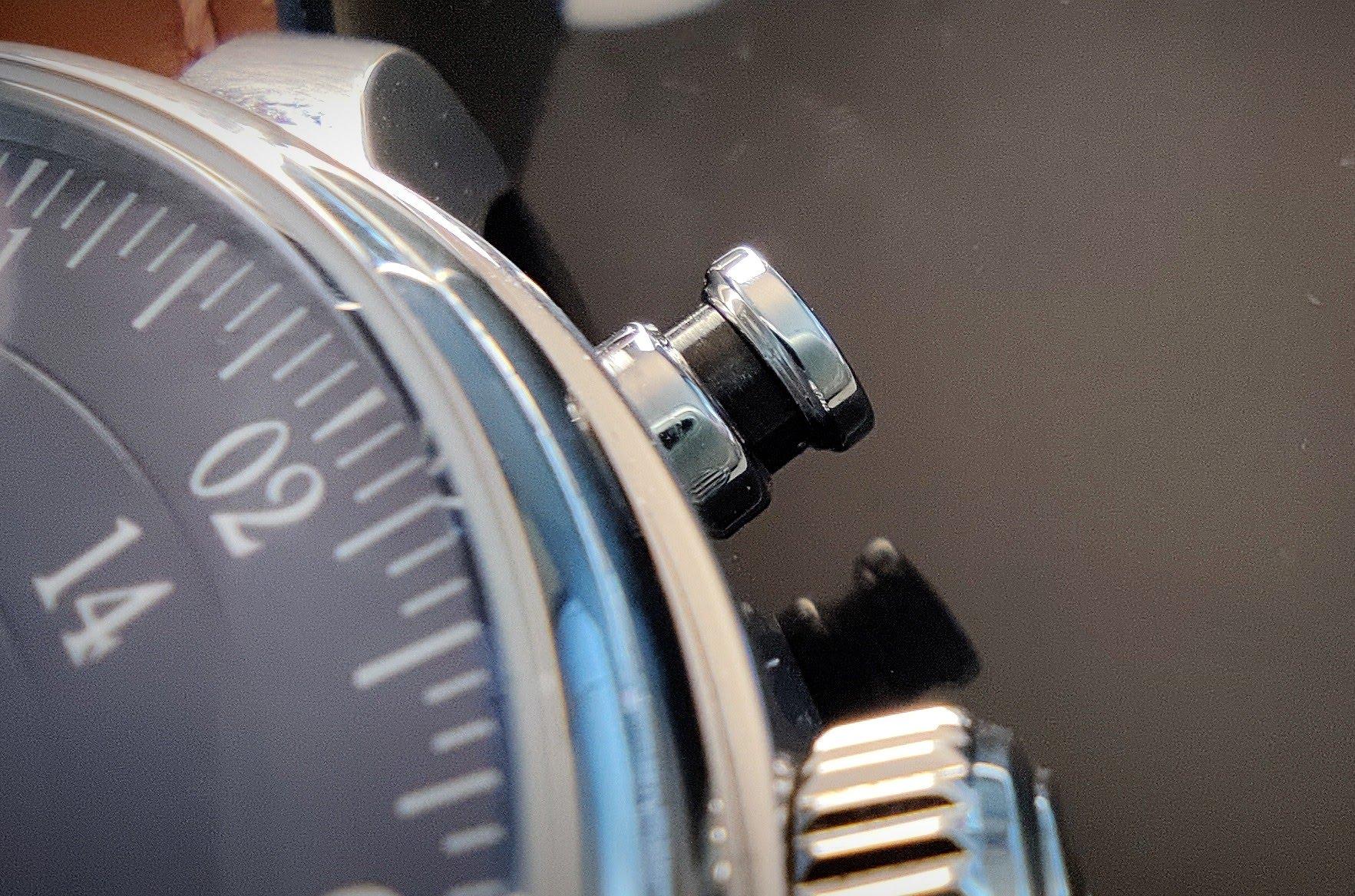 MeisterSinger Bell Hora - bouton poussoir