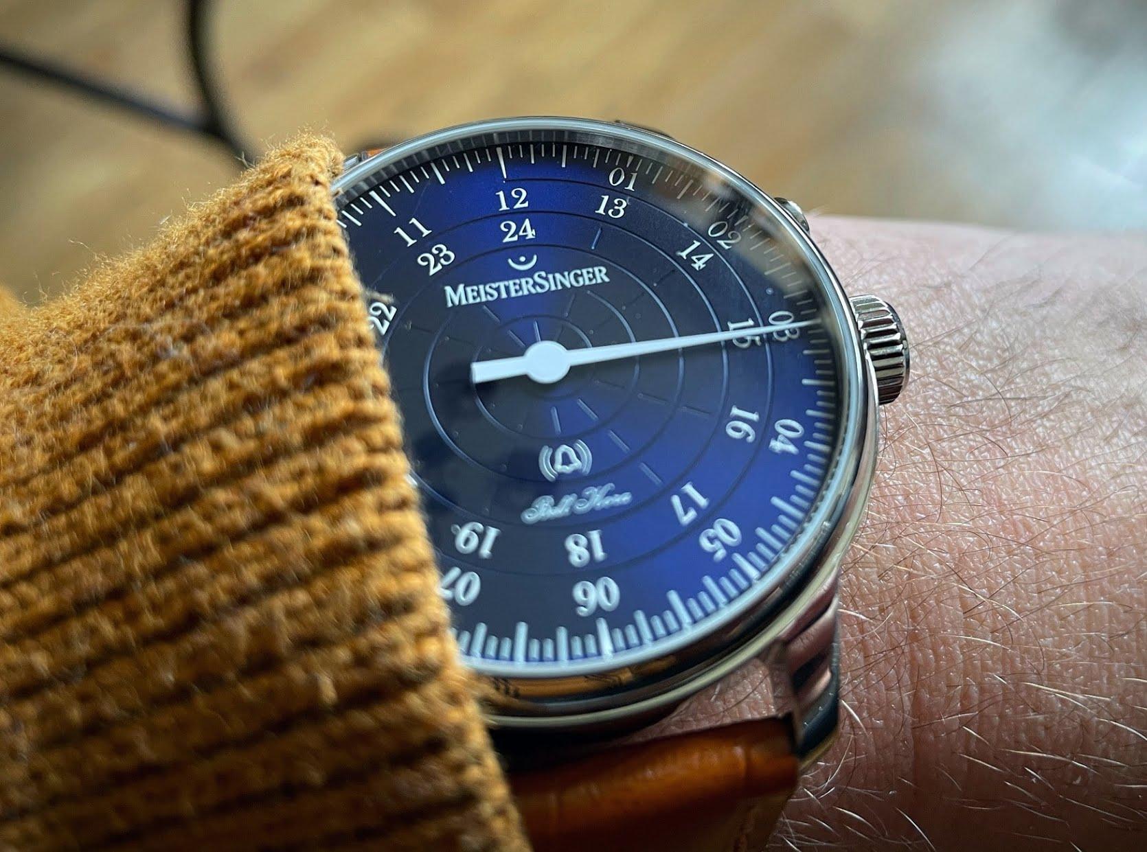 Découverte de la montre MeisterSinger Bell Hora