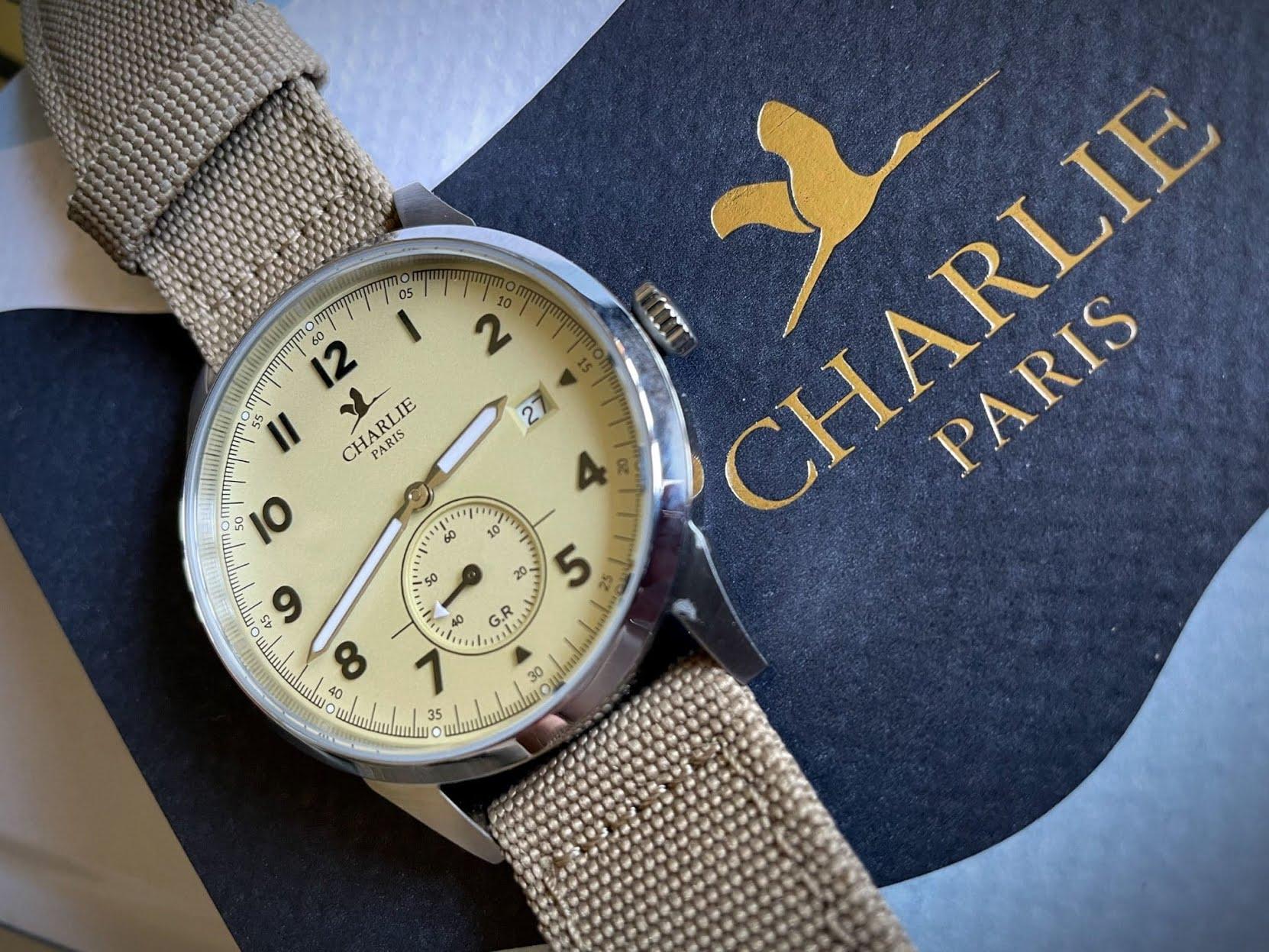 Avis sur les montres Charlie Paris