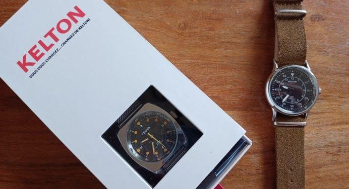 Du Vietnam à Milan : notre avis sur les montres Kelton