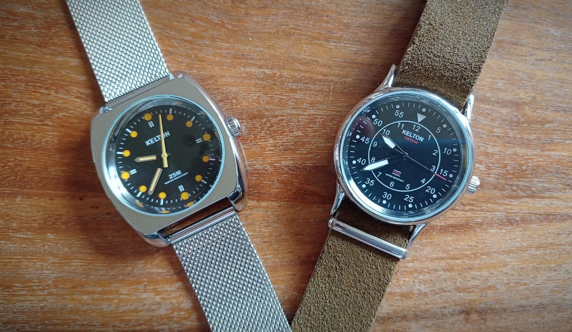 Review sur les montres Kelton