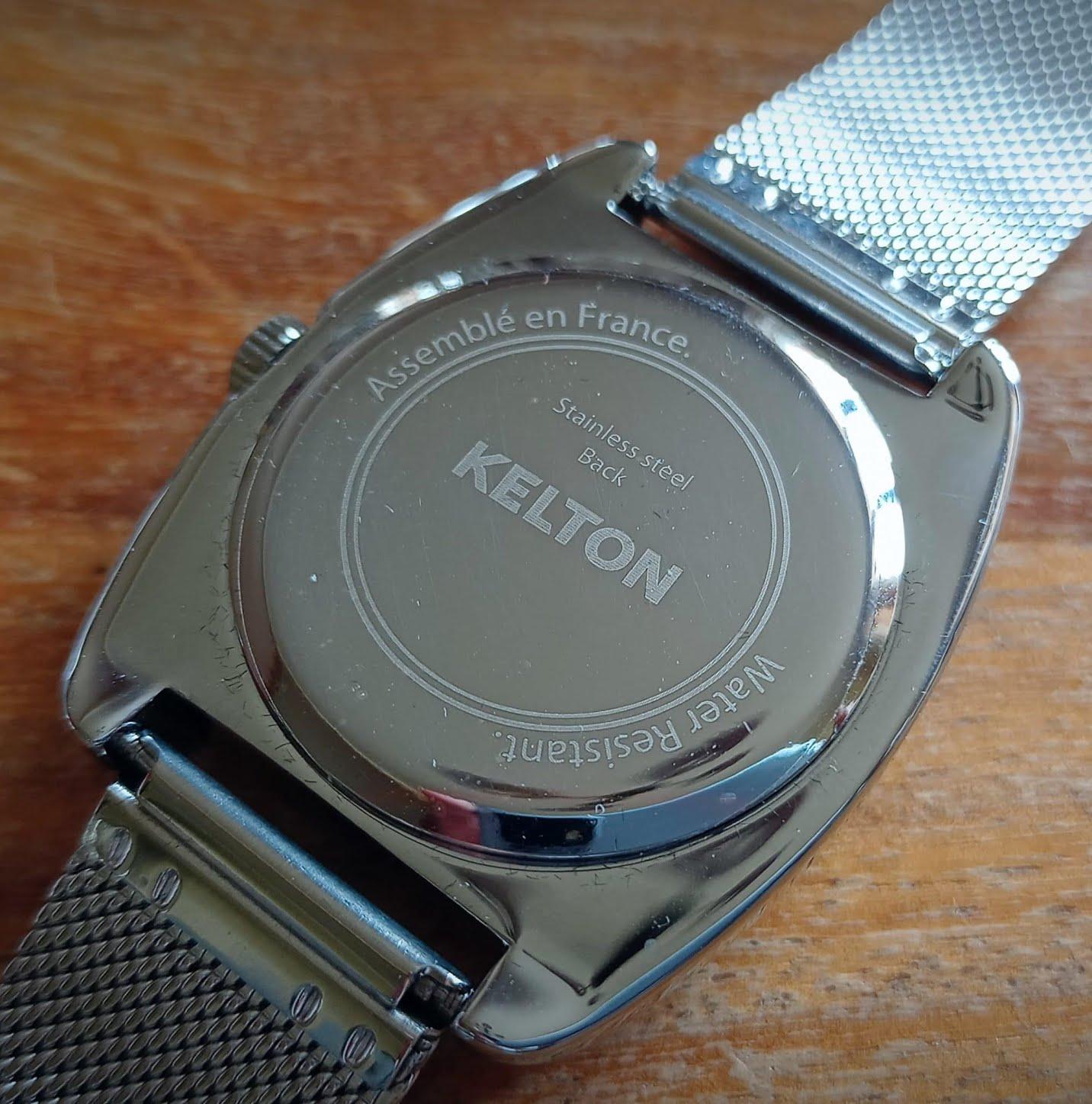 Kelton - montre assemblée en France