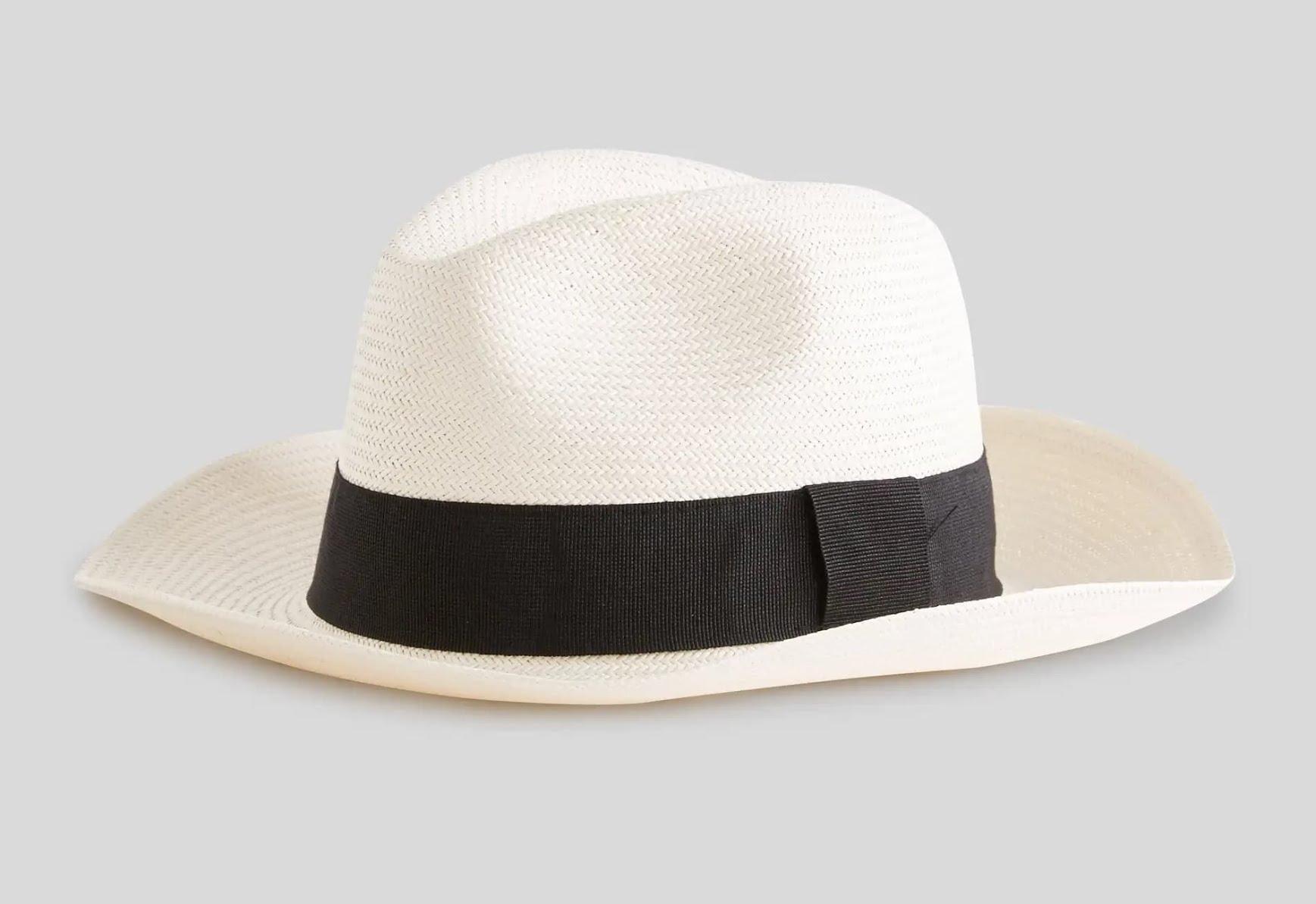 Types de chapeau homme - Panama