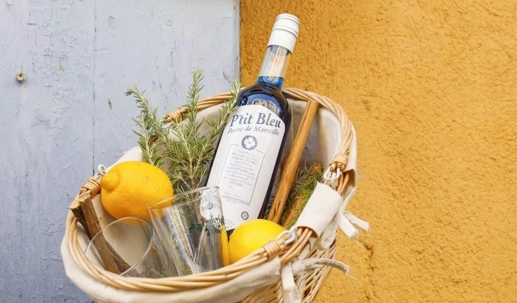 Pastis P'tit Bleu de la Liquoristerie de Provence