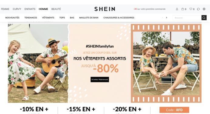 On a testé la boutique en ligne Shein