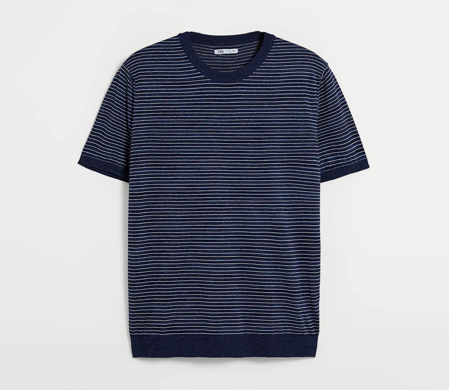Avis Zara - t-shirt en maille