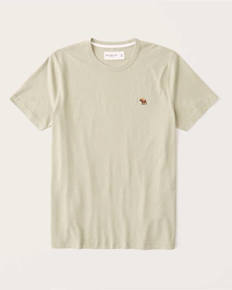 Avis Abercrombie - t-shirt homme ras du cou