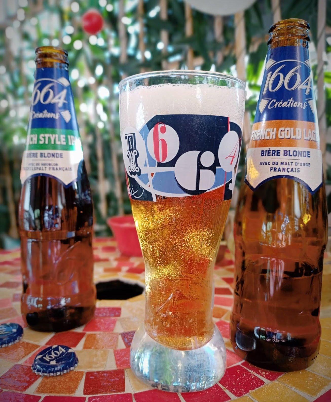 Bière 1664 Créations