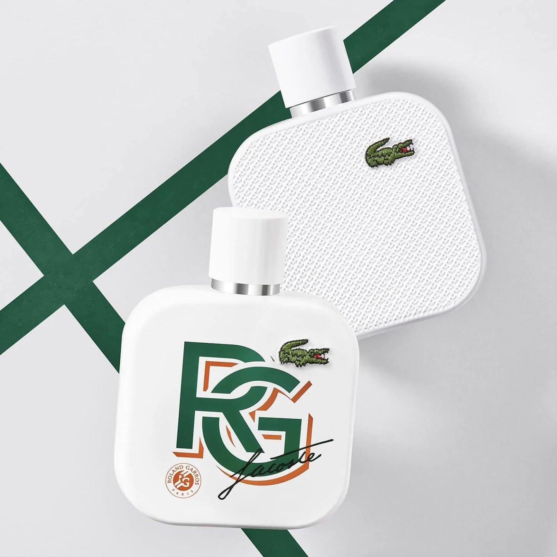 Eau de parfum Lacoste L.12.12 Blanc Roland Garros