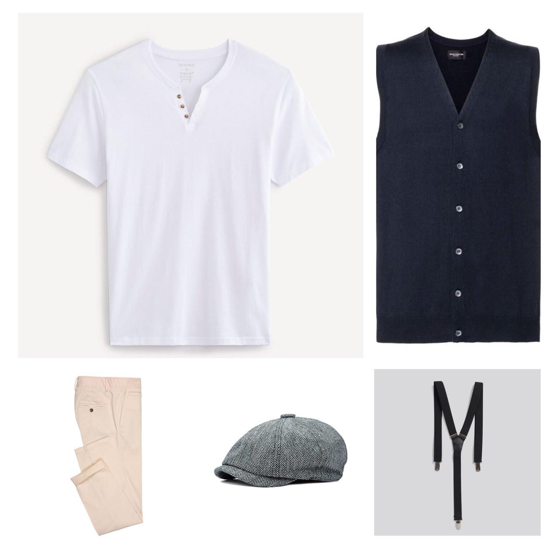 Look t-shirt bretelles pour l'été