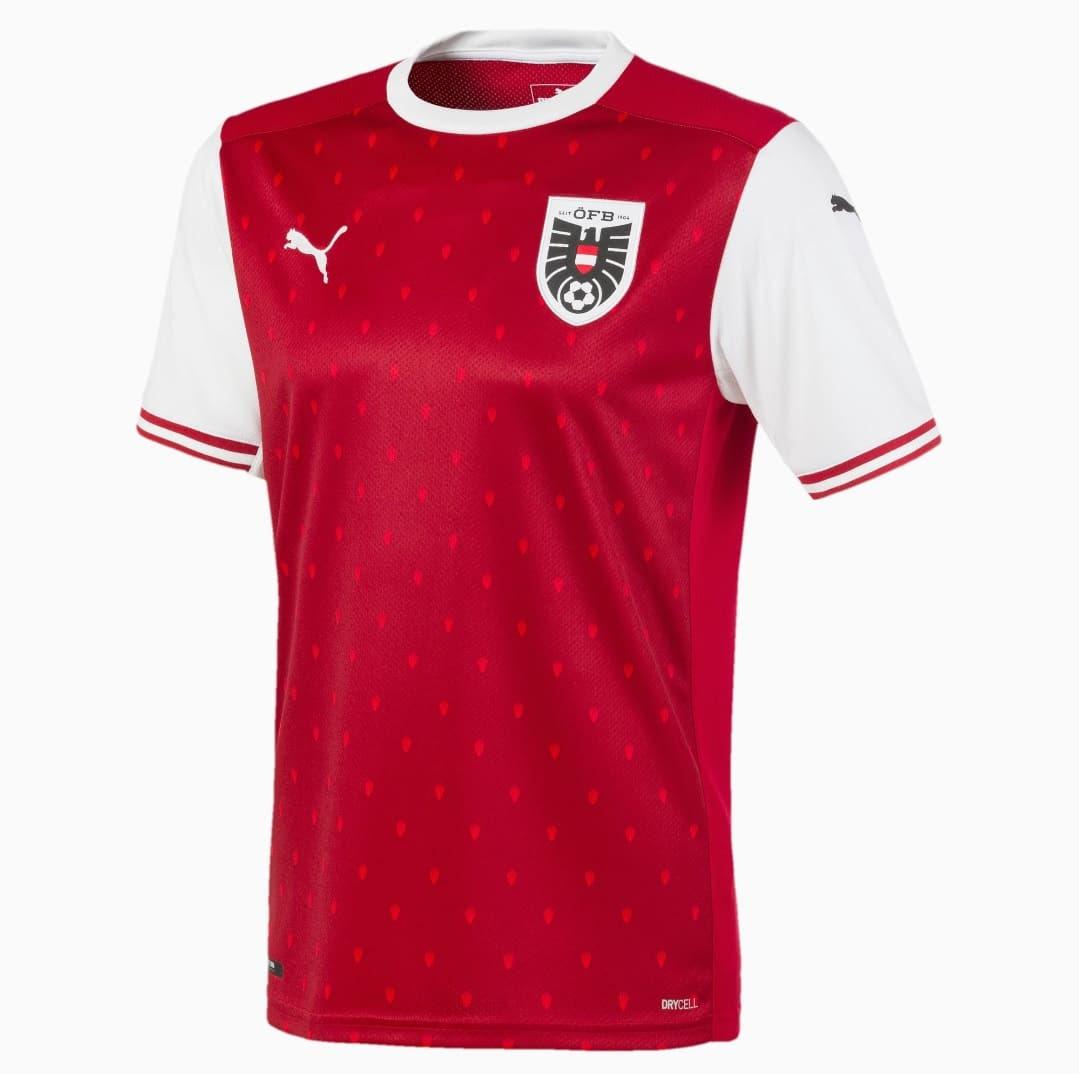Euro 2021 - maillot de l'Autriche