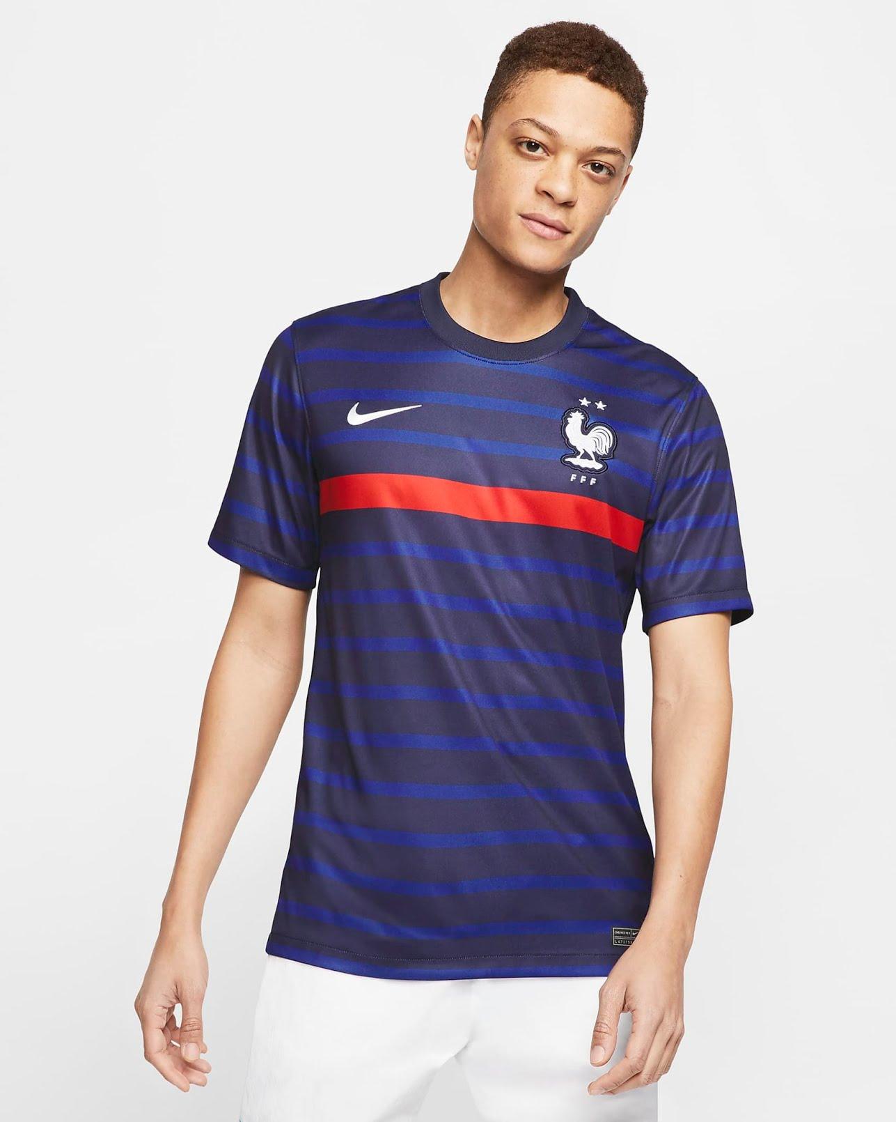 Euro 2021 - maillot de l'équipe de France