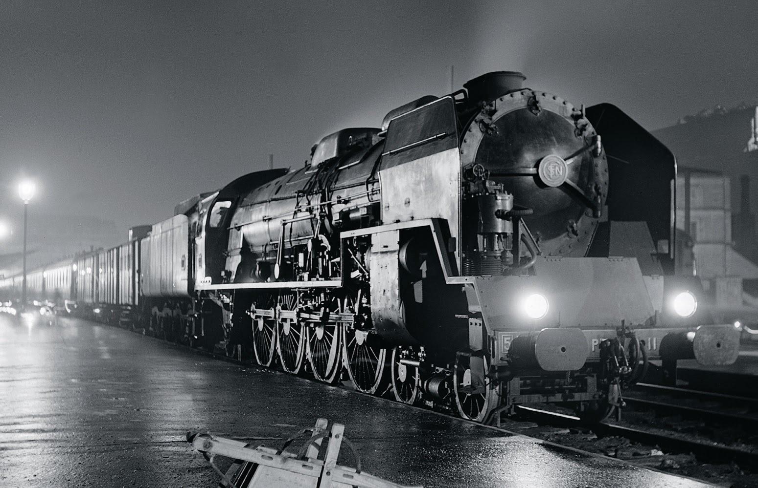 Voyage (en train) au bout de la nuit
