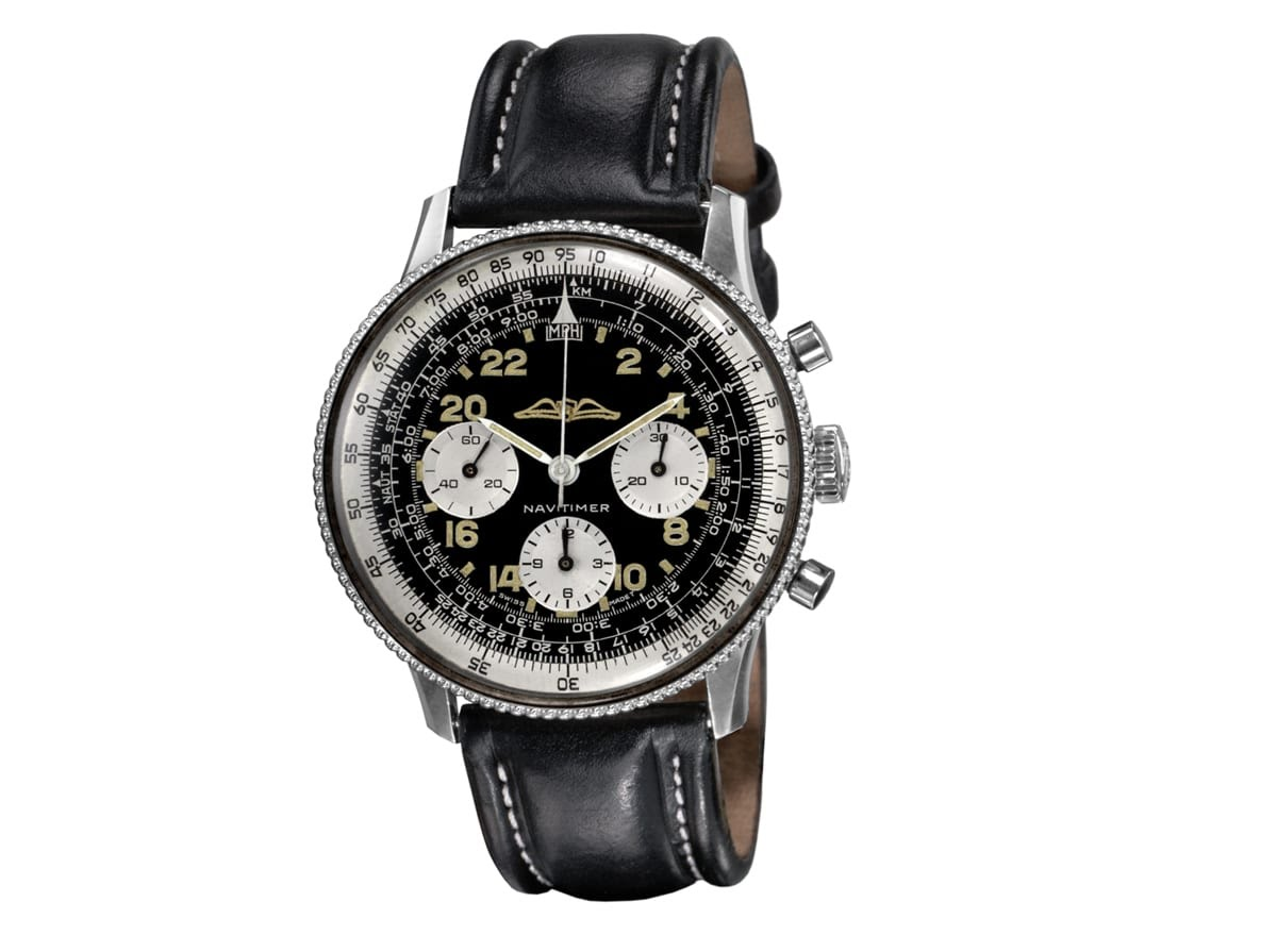 Breitling Navitimer : la montre des pilotes