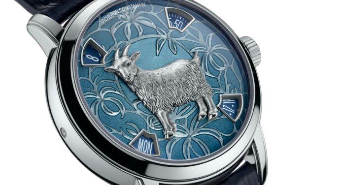 Vacheron Constantin : cette montre va vous rendre chèvre