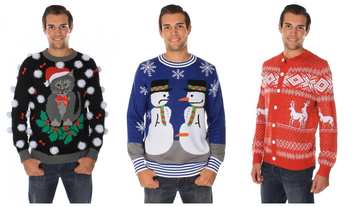 Les pires pulls de Noël pour homme