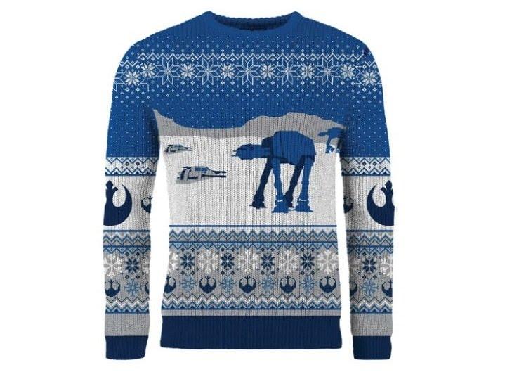 Pull de Noël Star Wars : 49,99€