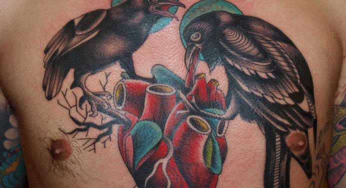 Les incroyables tatouages de Pietro Sedda